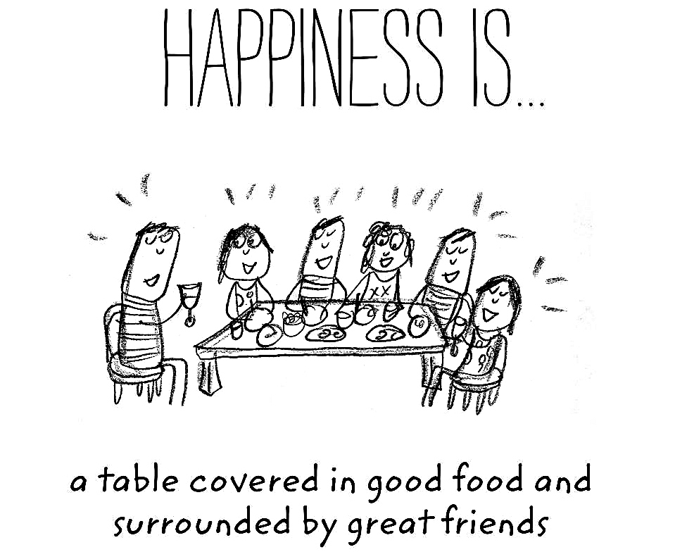 Happiness-is-a-table-covered-in-good-food-and-surrounded-by-great-friends-2