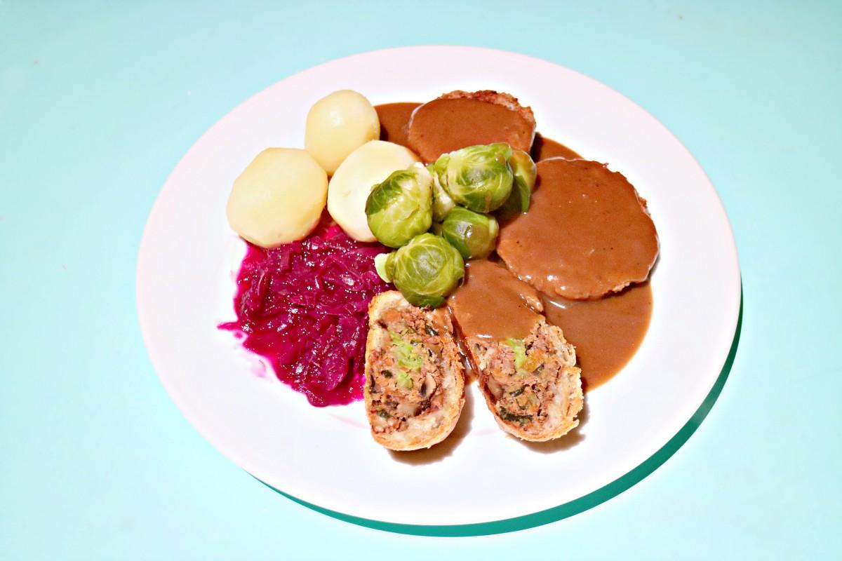 brun saus fra bunnen av